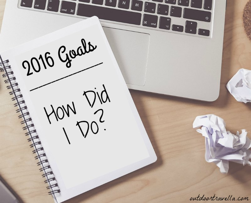 2016 Goals – How Did I Do?