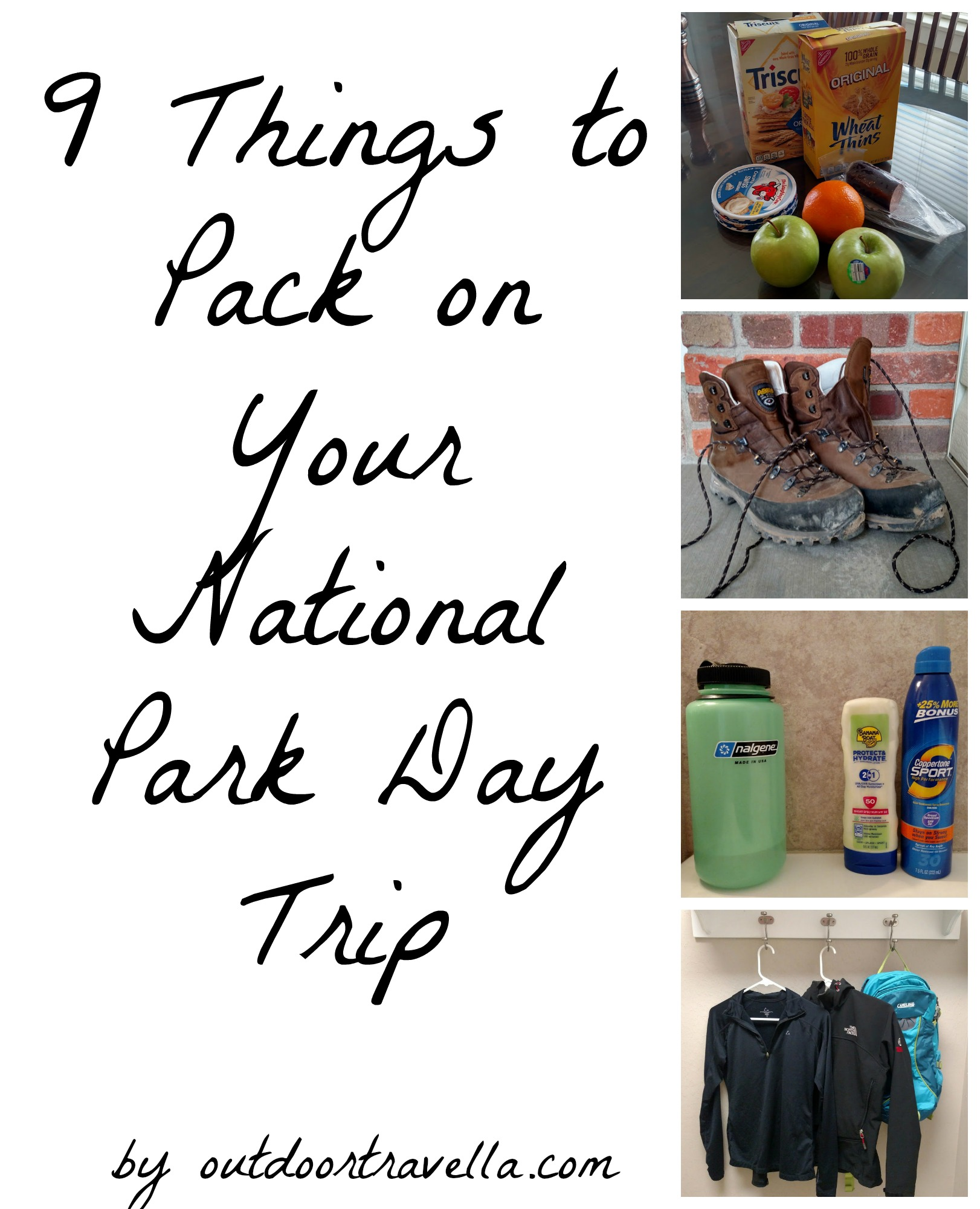 9 Things to Pack on Your National Park Day Trip