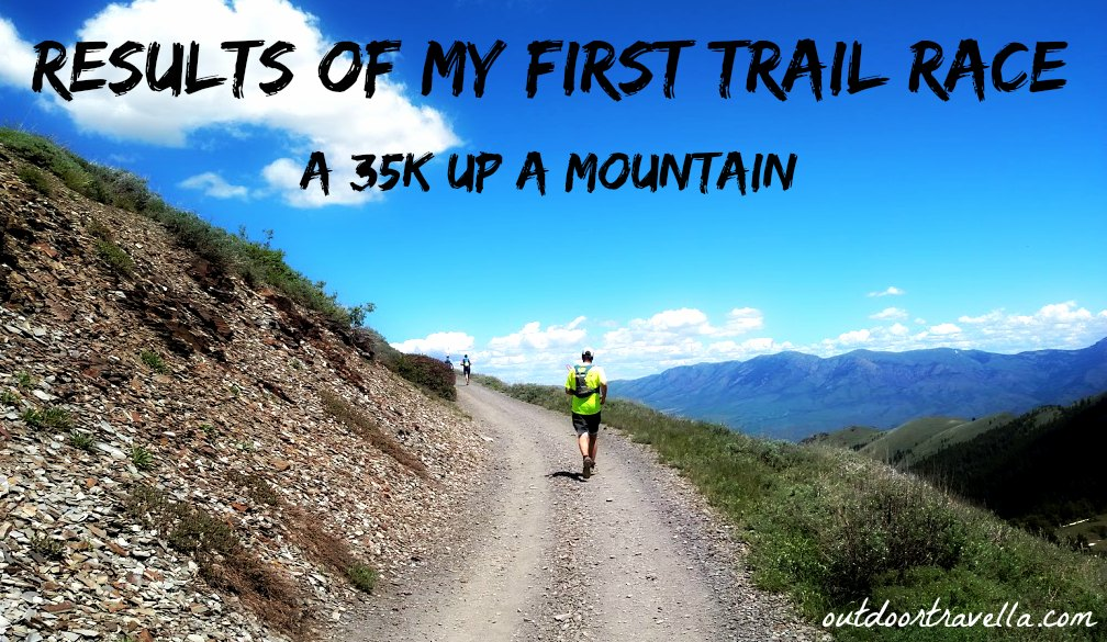Results Of My First Trail Race – A 35k Up A Mountain