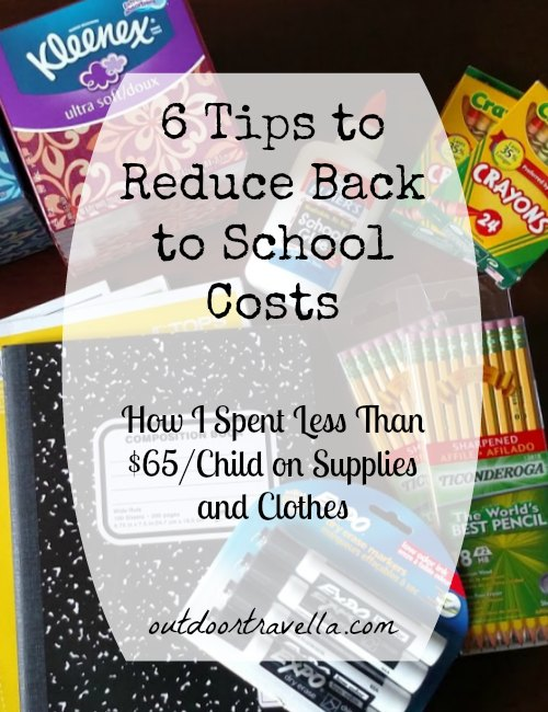6 Tips to Reduce Back to School Costs