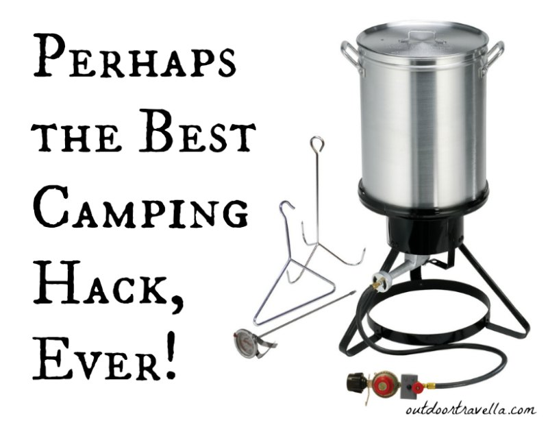 Perhaps the Best Camping Hack, Ever!