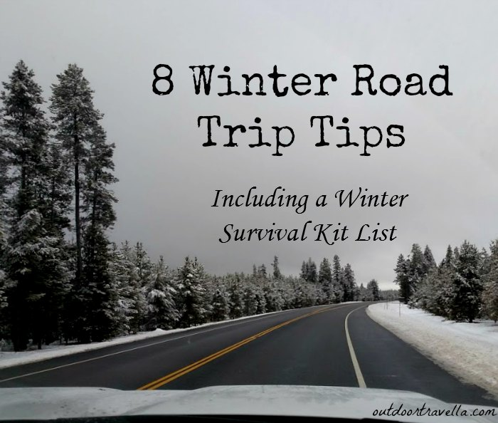 8 Winter Road Trip Tips