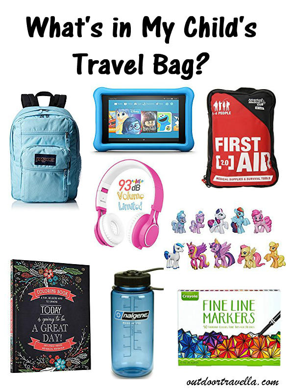 What Is In My Child's Travel Bag?